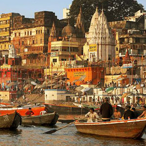 Río Ganges e India Central